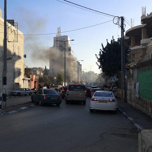 パレスチナ自治区 砲弾 危険